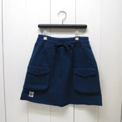チャムス/CHUMS/Sweat  Bush  Skirt/H/Navy
