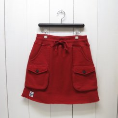チャムス/CHUMS/Sweat  Bush  Skirt/Red