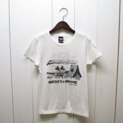Disney Tシャツ(MICKEY&MINNIE CAMP)/OFF WHITE