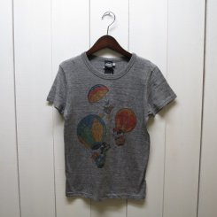 Disney Tシャツ(MICKEY&FRIENDS BALOON)/H.GREY