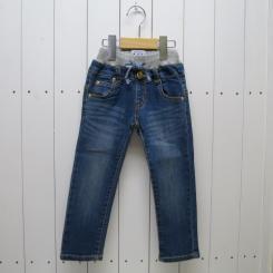 Lee ×stompstamp/デニムリブ付5ポケットパンツ/ブルー 80・100cm