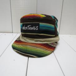 ワイルドシングス/WILD THINGS/REVERSIBLE WORK CAP/khaki/brown serape