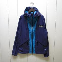 ワイルドシングス/WILD THINGS/HOODED WIND SHIRT//turquoise/purple