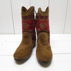 ミネトンカ/MINNT TONKA/BAJA BOOT/Red