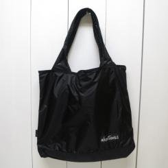 ワイルドシングス/WILD THINGS/DRAWSTRING TOTE/black