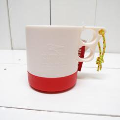 チャムス/CHUMS/Camper Mug Cup/Natual・Red