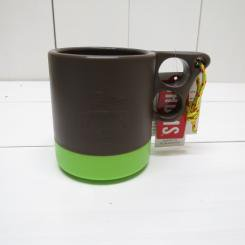チャムス/CHUMS/Camper Mug Cup/Brown・Lime