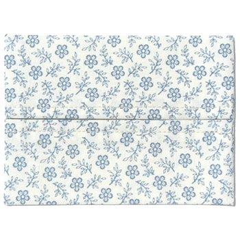 ポケットティッシュカバー 子供サイズ 花柄・白紺