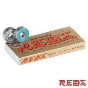 スケートボード ボーンズ ベアリング ビッグボールズレッズ Bones BIG BALLS REDS Bearings 8mm POP 「スマートレター便対応」
