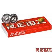 スケートボード ボーンズ ベアリング スーパーレッズ Bones Super REDS Bearings 「スマートレター便対応」
