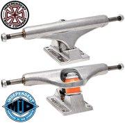 スケートボード インディ トラック ミッド 129 MID Independent Truck ステージ11 ポリッシュ シルバー STD MID 2個セット