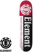 スケートボード エレメント デッキ 8.0x31.75 ELEMENT Deck SECTION