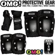 スケートボード オーエムジー スケートボード エリート パッド セット OMG! ELITE PAD SET XXS/XS/S/M/L BLACK