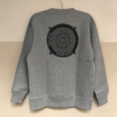 "DUB GONG ""ROOTS&CULTURE"" Crew-Neck [杢グレー]"