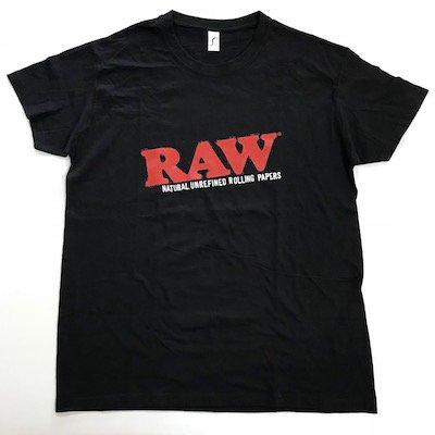 RAW ロゴ Tシャツ [ブラック]