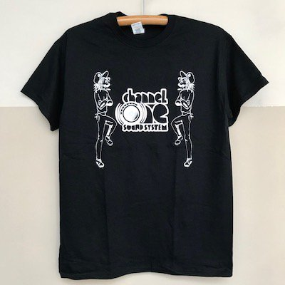 CHANNEL ONE SOUNDSYSTEM オフィシャルTシャツ [Black]