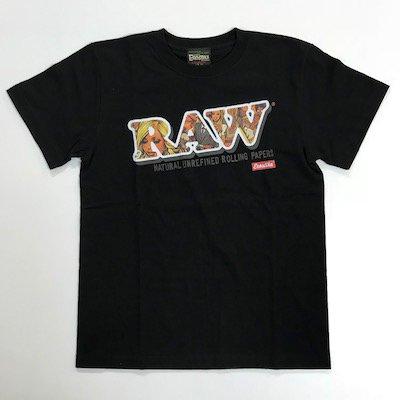 RAW × エロスティカ  ロゴTシャツ