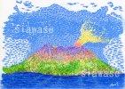 七色の桜島