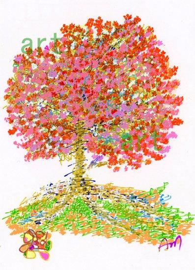 喜びと愛の桜