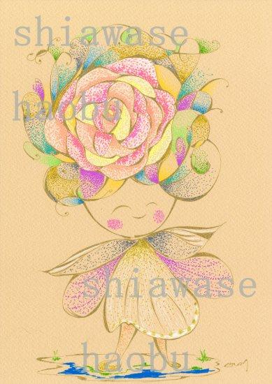 バラの天使