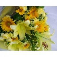 【生花】イエロー系花束
