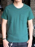 TUGBOAT GARMENTS - FREEDOM SLEEVE POCKET TEE(GREEN)