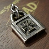 ROAD - PADLOCK IRONCROSS CANVAS LIMITED vr.(Silver × Brass)