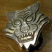 ROAD - TIGER BUCKLE(SILVER)