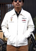 STORM BECKER - RATROD RACE JACKET(WHITE)