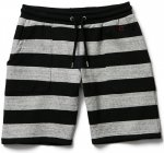 <img class='new_mark_img1' src='//img.shop-pro.jp/img/new/icons50.gif' style='border:none;display:inline;margin:0px;padding:0px;width:auto;' />CLUCT - BODER STRIPE SWEATSHORT(GRAY/BLACK)