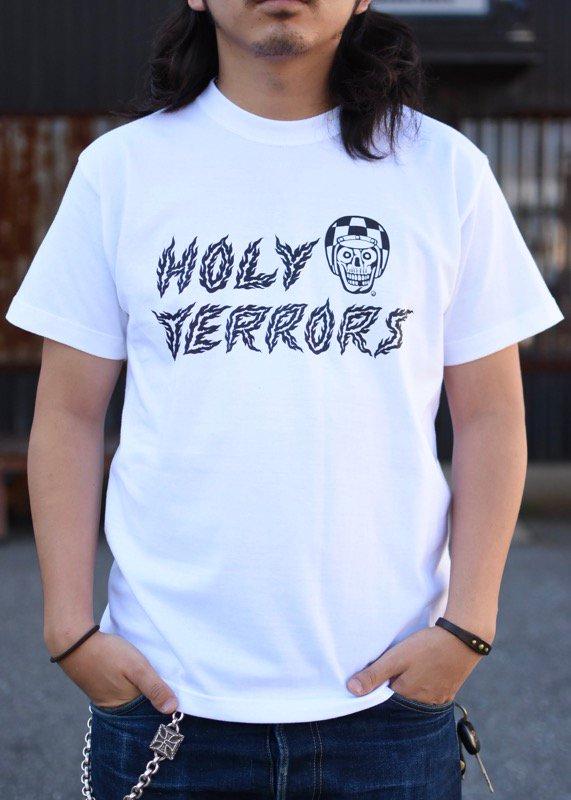 HOLY TERRORS - HT17-HT02 T's(WHITE)
