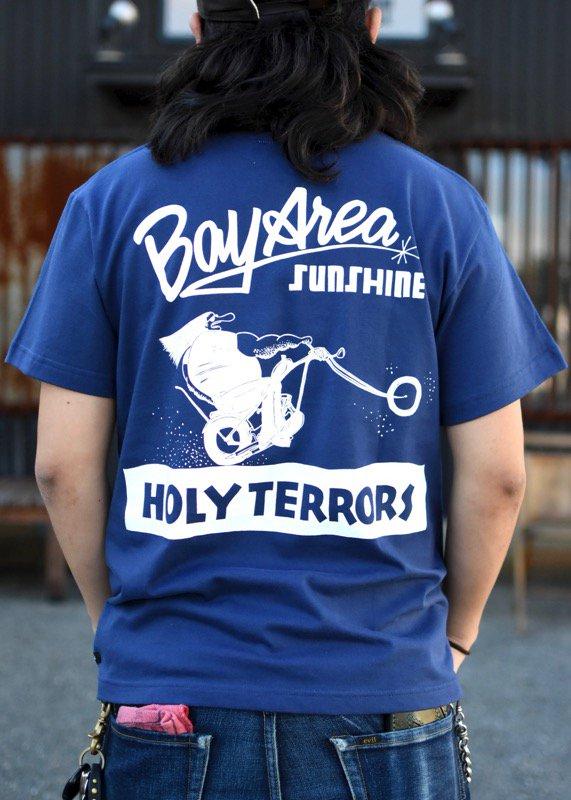 HOLY TERRORS - HT17-HT03 T's(INDIGO)