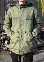CLUCT - LINED MILITARY COAT (ARMY)