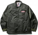 CLUCT - LINED COACH JACKET (ARMY)