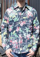 CLUCT - ORIGINAL ALOHA PATTERN L/S SHIRT (BLACK)