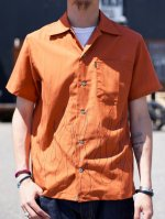 <img class='new_mark_img1' src='//img.shop-pro.jp/img/new/icons50.gif' style='border:none;display:inline;margin:0px;padding:0px;width:auto;' />CLUCT -  S/S FIRE FLAME SHIRT (BRICK)