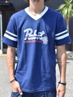 <img class='new_mark_img1' src='//img.shop-pro.jp/img/new/icons1.gif' style='border:none;display:inline;margin:0px;padding:0px;width:auto;' />LOSER MACHINE - LMC x PBR Chrome Jersey(NAVY)