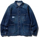 <img class='new_mark_img1' src='//img.shop-pro.jp/img/new/icons50.gif' style='border:none;display:inline;margin:0px;padding:0px;width:auto;' />CLUCT - VINTAGE COVERALL (INDIGO)