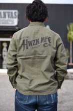 HWZN.MFG.CO.(HWZN BROSS) - A-2 TYPE SHIRTS JACKET(OLIVE)