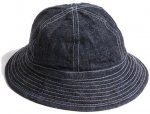 <img class='new_mark_img1' src='https://img.shop-pro.jp/img/new/icons55.gif' style='border:none;display:inline;margin:0px;padding:0px;width:auto;' />TROPHY CLOTHING - DIRT DENIM ARMY HAT(INDIGO)