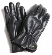 TROPHY CLOTHING - HORSE MOTORCYCLE GLOVES(BLACK)