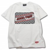 GSE SCP S/S T's (WHITE/RED)