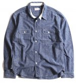 <img class='new_mark_img1' src='https://img.shop-pro.jp/img/new/icons25.gif' style='border:none;display:inline;margin:0px;padding:0px;width:auto;' />TROPHY CLOTHING - HARVEST SHIRTS (INDIGO)