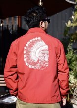 TROPHY CLOTHING - MAGICAL CHIEF WARM UP JACKET (RED)