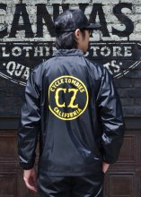 CycleZombies / サイクルゾンビーズ CALIFORNIA COACHES JACKET (BLACK)