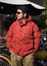 TROPHY CLOTHING - ALPINE DOWN JACKET (RED)