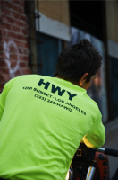 HWY / HAWG long sleeve (HIVIZ)