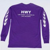 HWY / HAWG long sleeve (PURPLE)
