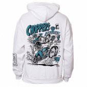 EVILACT x CANVAS -Pullover Hoodie(WHITE) 10th Limited