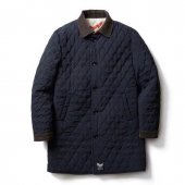 <img class='new_mark_img1' src='https://img.shop-pro.jp/img/new/icons1.gif' style='border:none;display:inline;margin:0px;padding:0px;width:auto;' />SOFTMACHINE / THUNDERBOLT COAT (REVERSIBLE QUILTING COAT)